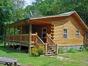 Cherokee NC Log Cabin Vacation Rental